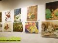 Exposición de las obras del I Concurso de Pintura Frutos y Flores de La Palma