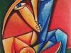 """Exposición """"Perspectiva Habanera"""" del artista cubano Raúl Moncada."""