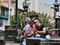 Concierto de Los Salvapantallas en Santa Cruz de La Palma durante el V Festival de Senderismo y Montañana