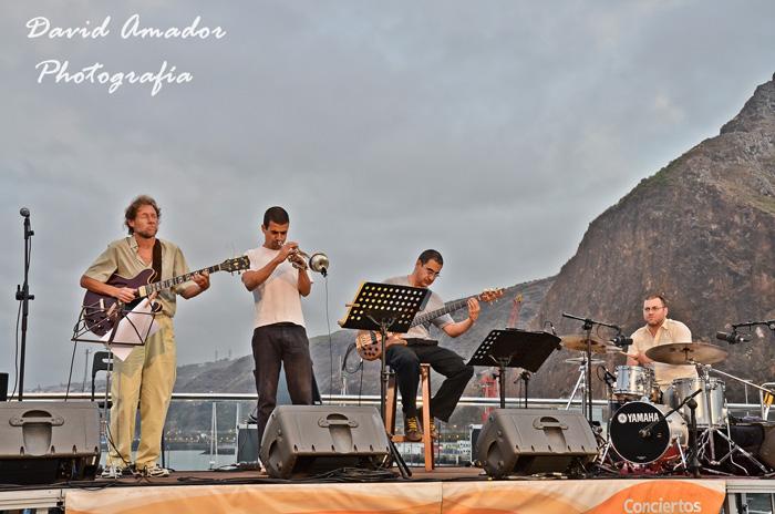 Concierto de Junonia Jazz en Marina La Palma