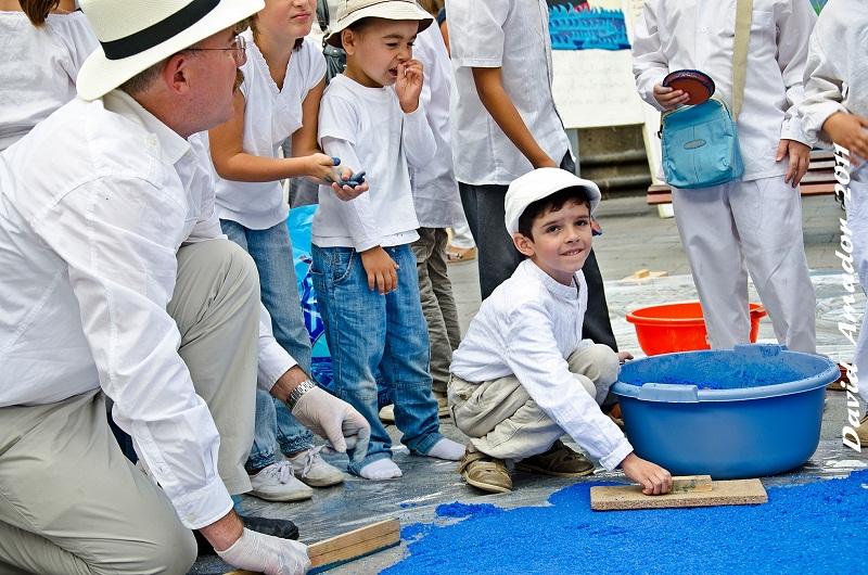 Actividades de las Escuelas Unitarias de La Palma