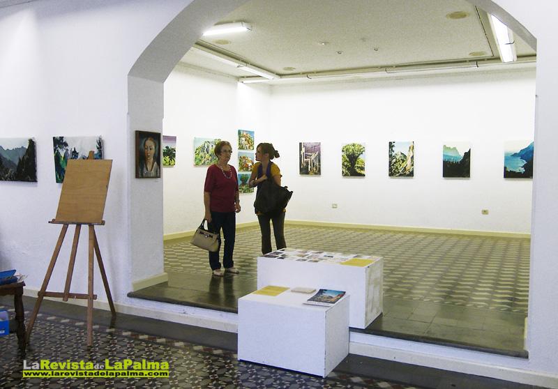 """Exposición de pintura """"Caldera y El Tablado"""" de Alexej Dvorak"""