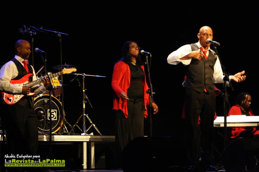 Concierto de Gospel de los Joyful en el Teatro Circo de Marte.