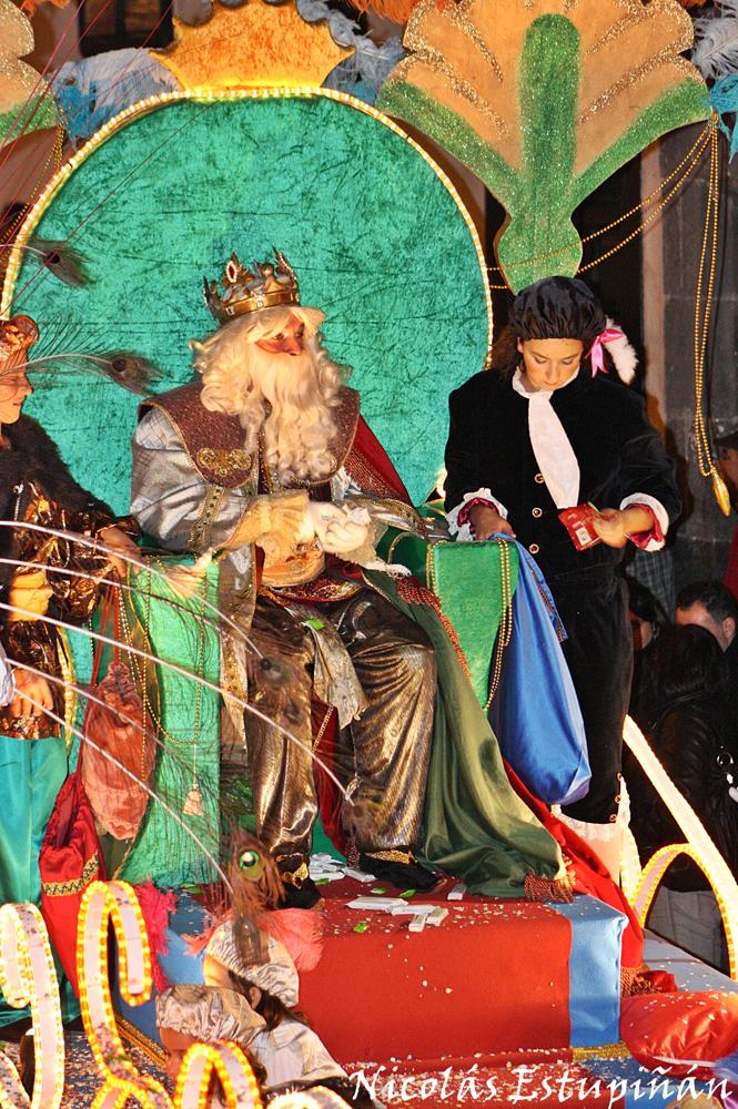 Gran cabalgata de Reyes Magos en Santa Cruz de La Palma