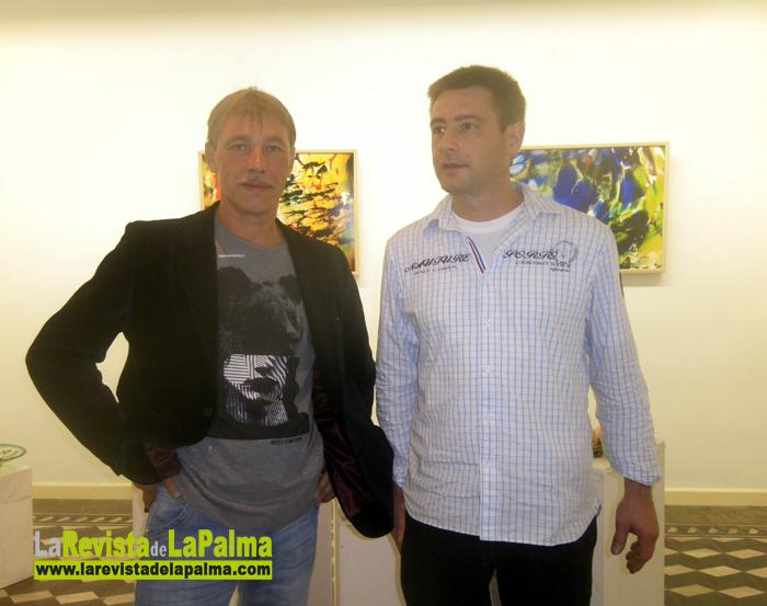 Exposicion de vidrio soplado Artefuego - Los artistas