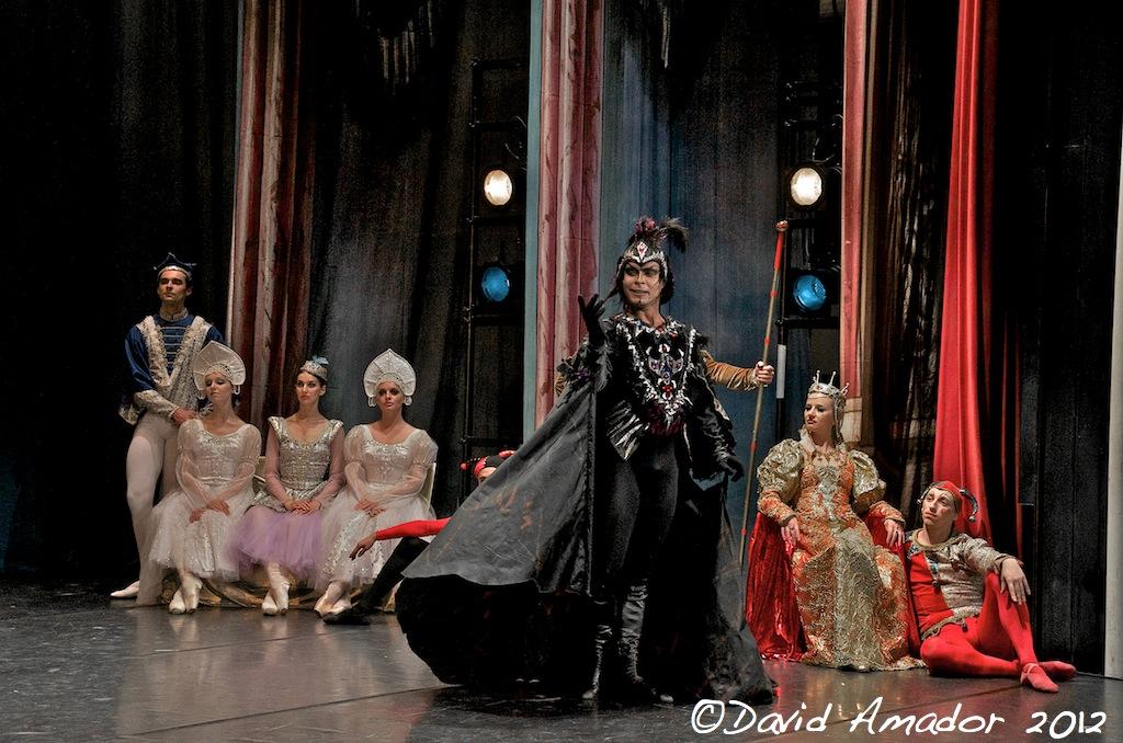 el lago de los cines del ballet de moscu en el teatro circo de marte