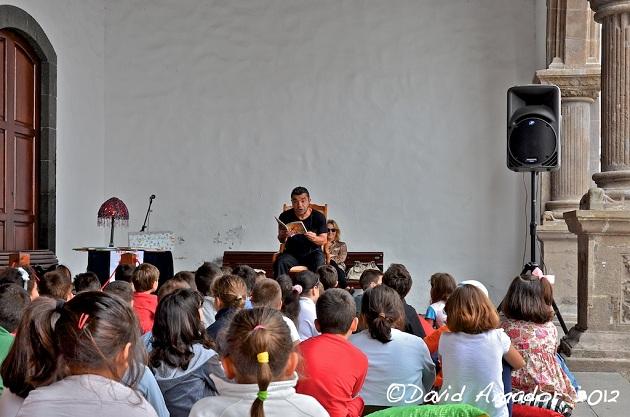 Lectura Dramatizada en la Feria del Libro de S/C de La Palma