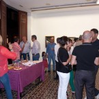 Exposición de pintura de Marevi Pérez.