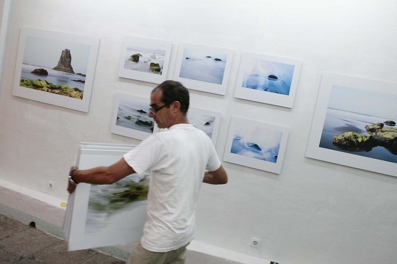 Exposición On the Water de Juan Carlos Chico. Foto: Dani Roca