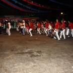 Encuentro de Batucadas con el Perro Maldito de las Fiestas de San Bartolomé en La Galga, Puntallana (La Palma)