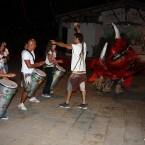 Perro Maldito de las Fiestas de San Bartolomé en La Galga, Puntallana (La Palma)