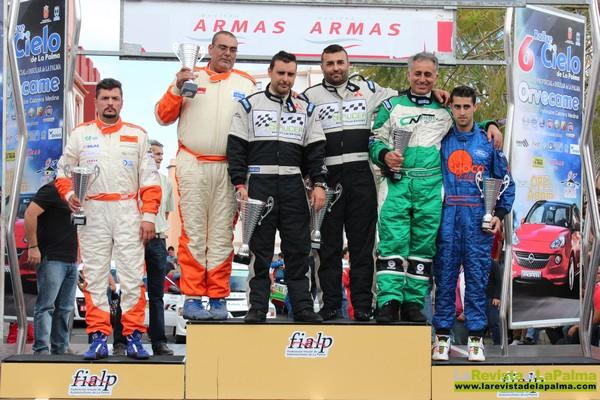 Ganadores del VI Rallye Cielo de La Palma