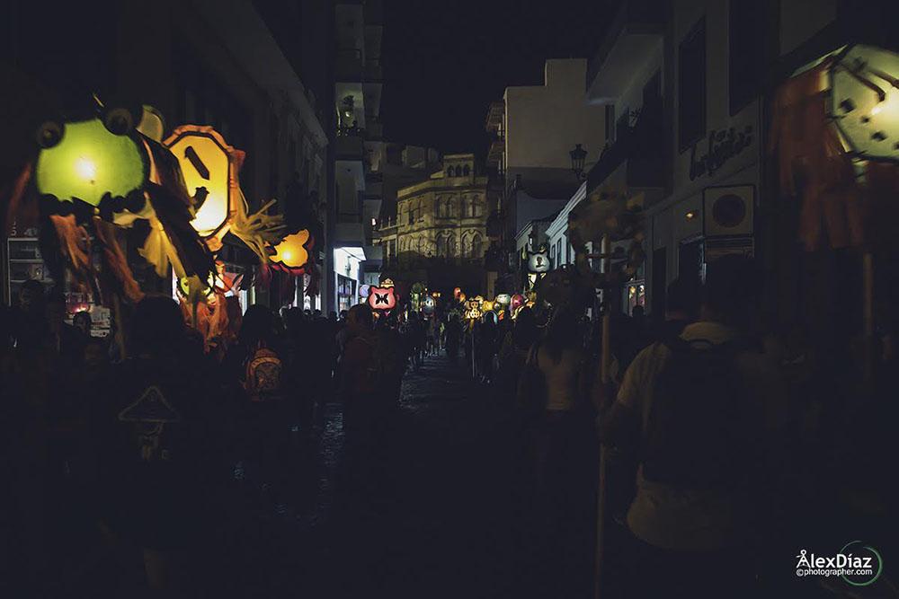 2015 Bajada de La Virgen Alex Diaz pandorga 1
