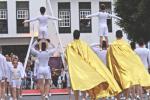 Acrobatas Bajada de La Virgen 2015  3