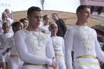 Acrobatas Bajada de La Virgen 2015  la cara de los acrobatas 1
