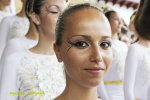 Acrobatas Bajada de La Virgen 2015  la cara de los acrobatas
