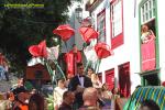 Desfile de carrozas Bajada de la Virgen 2015