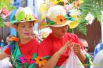 Desfile de carrozas Bajada de la Virgen 2015 4