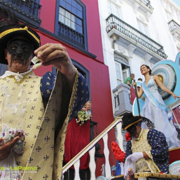 Desfile de carrozas Bajada de la Virgen 2015 9 3
