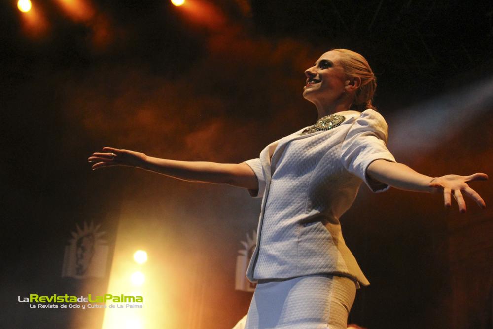'Evita: El Musical' triunfa en La Palma