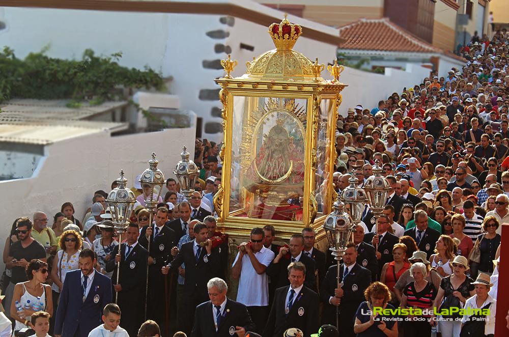 Procesion Bajada de La Virgen 2015