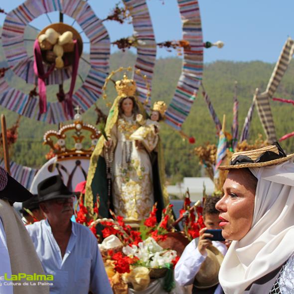 Romeria Bajada Virgen Pino El Paso 15 2998