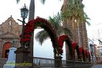 Decoración navideña en la Plaza de España