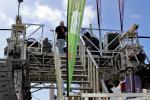 Reventon Trail 2016 La banda Fijo Discontinuo directo sobre el arco de salida 1