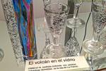 Feria Insular Artesania Puntallana Arte con cristal y piedras volcanicas