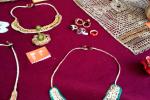 Feria Insular Artesania Puntallana Objetos artesanales con badana