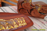 Feria Insular Artesania Puntallana Timples y articulos madera Francisco Rodriguez
