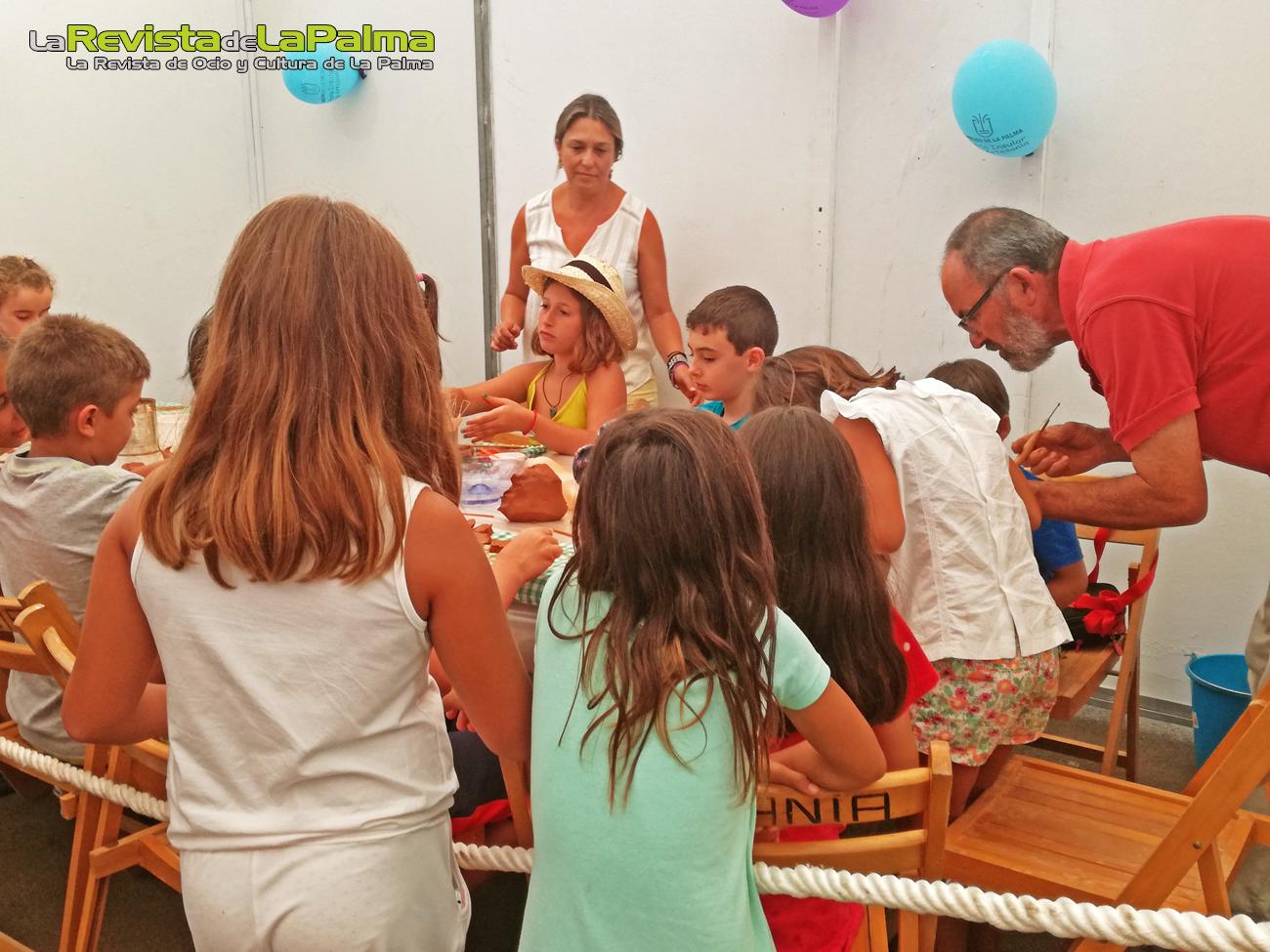 Feria Insular Artesania Puntallana atividades talleres infantiles