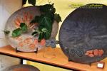 Feria Insular Artesania Puntallana piezas en piedra Taller Evengad