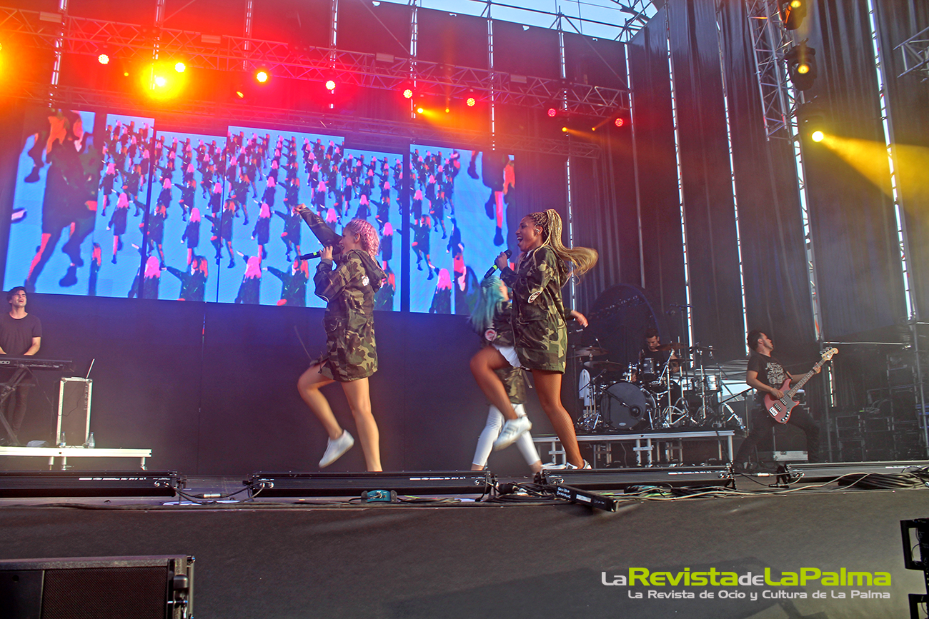 Macroconcierto Love Festival Sweet California